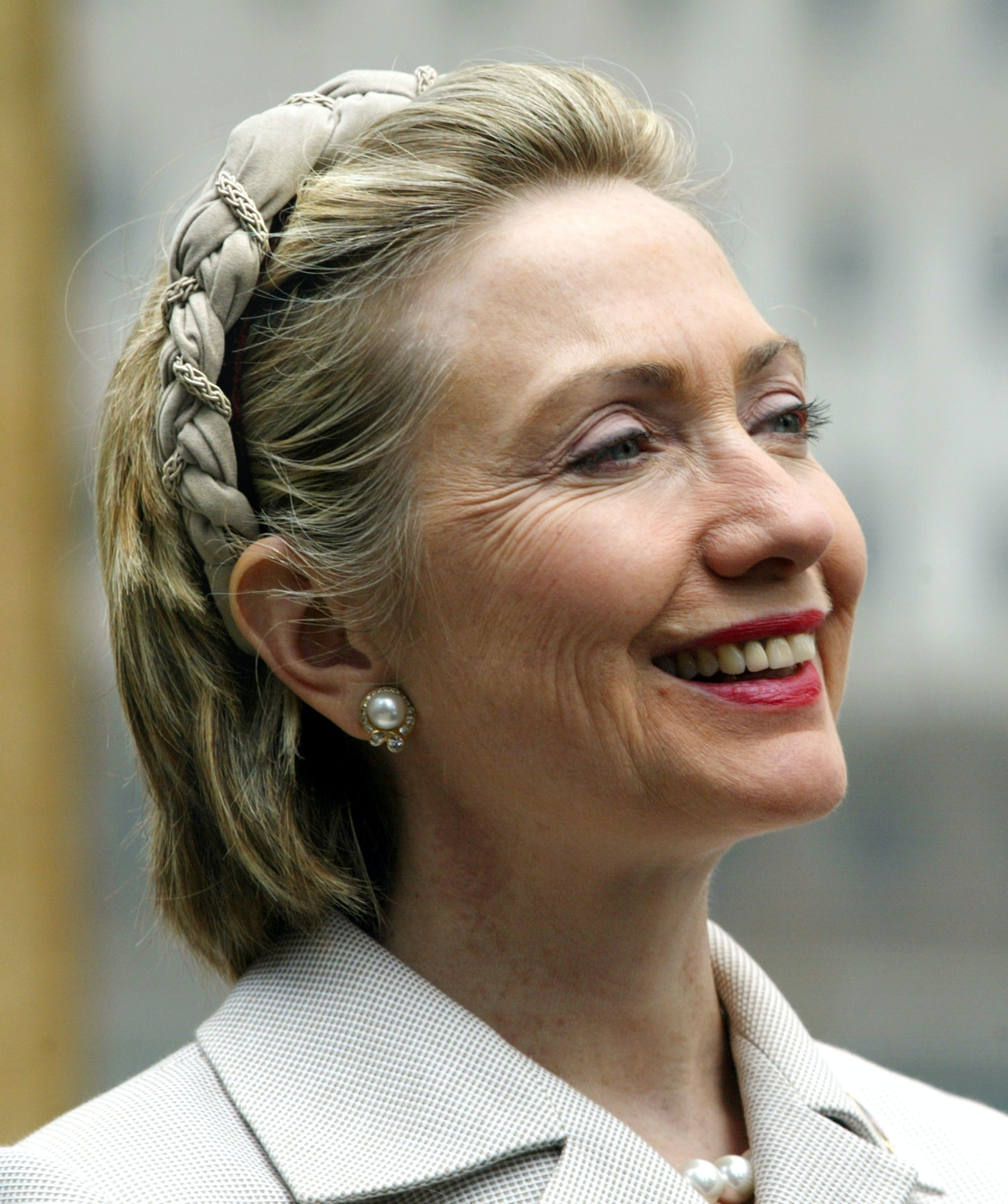 5 Times Hillary Clinton S Hair Was The Center Of Attention