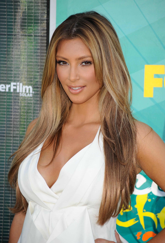 Kim Kardashian Went Platinum Blonde But Her Hair Has Been Many