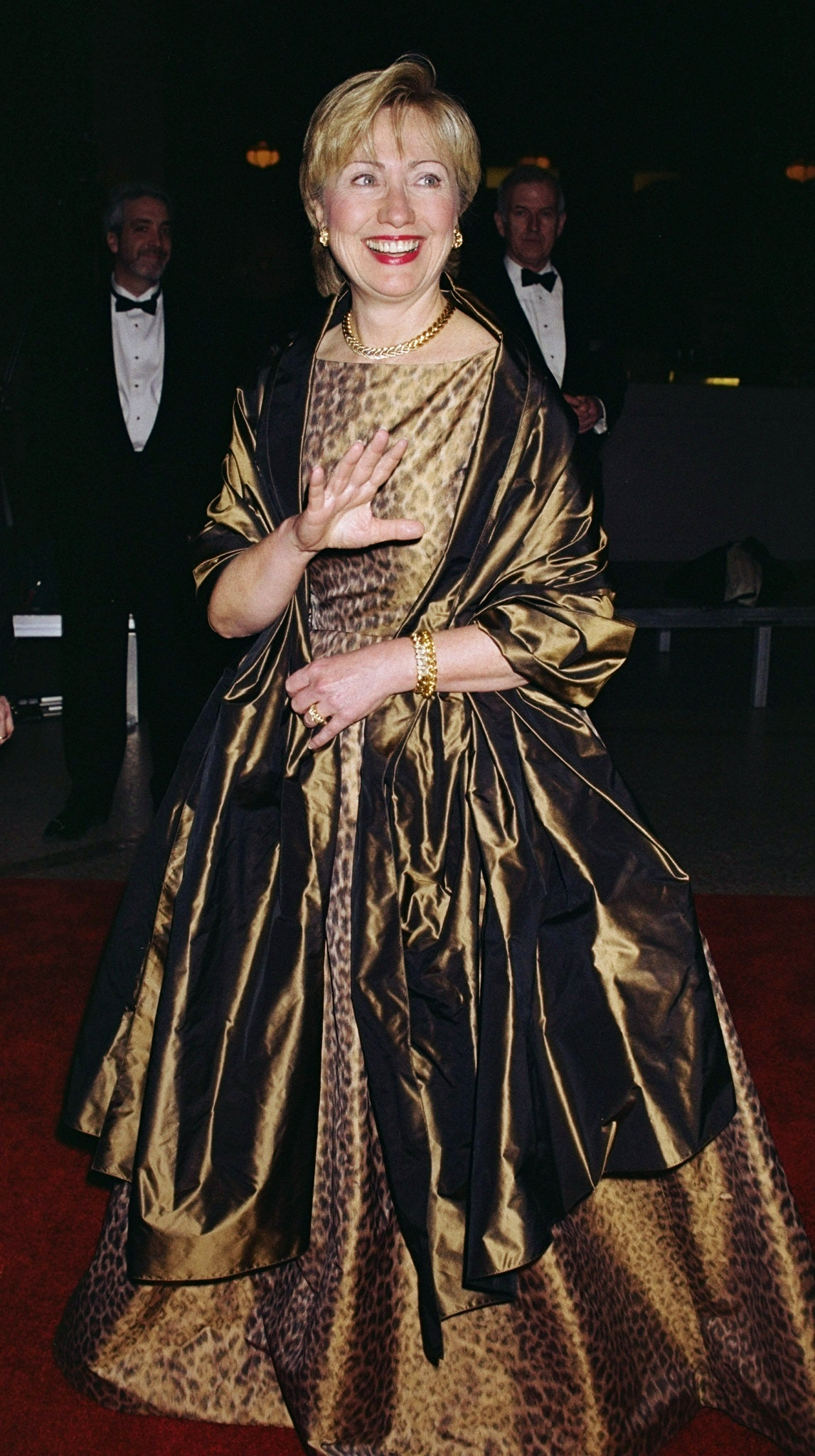 Hillary Clinton\'s First Met Ball Gown Was Wilder Than You\'d Expect ...