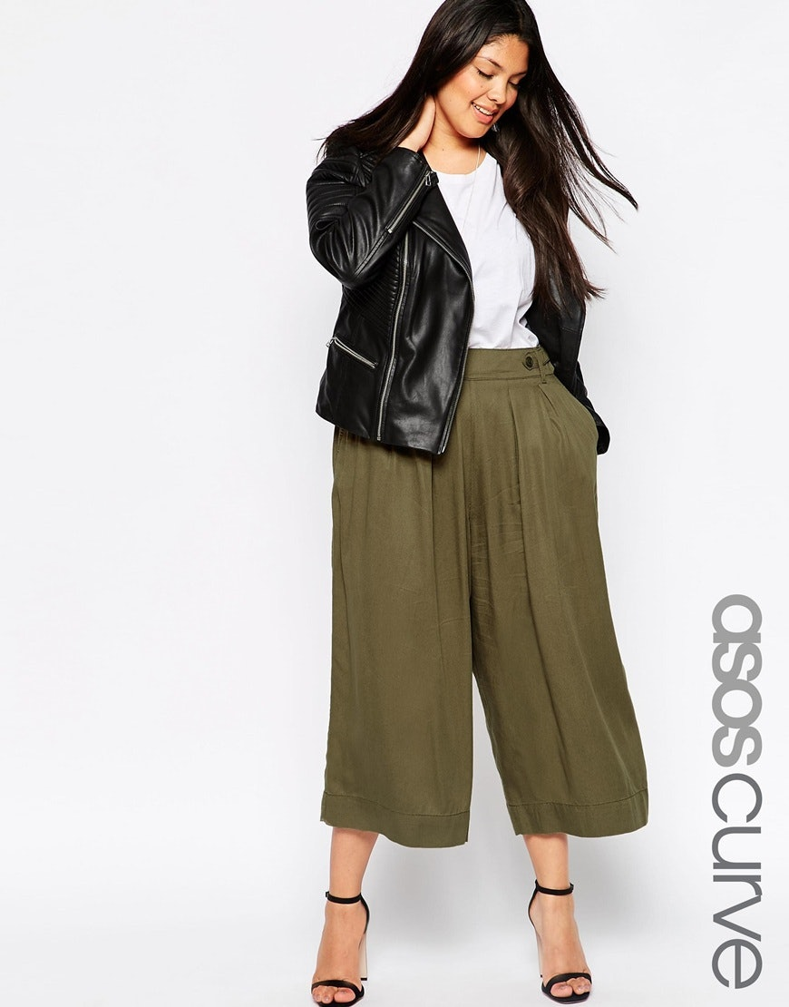 b91a07147a8 11 Plus Size Culottes For Your Inner  90s Mom Who Also Loves To Break Some  Rules