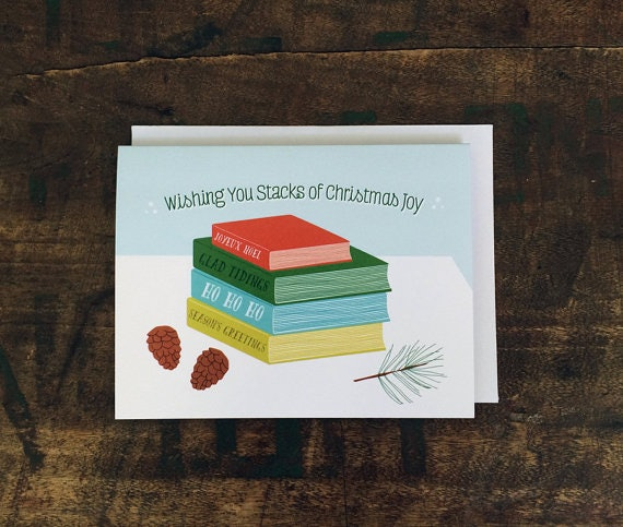 christmas card book