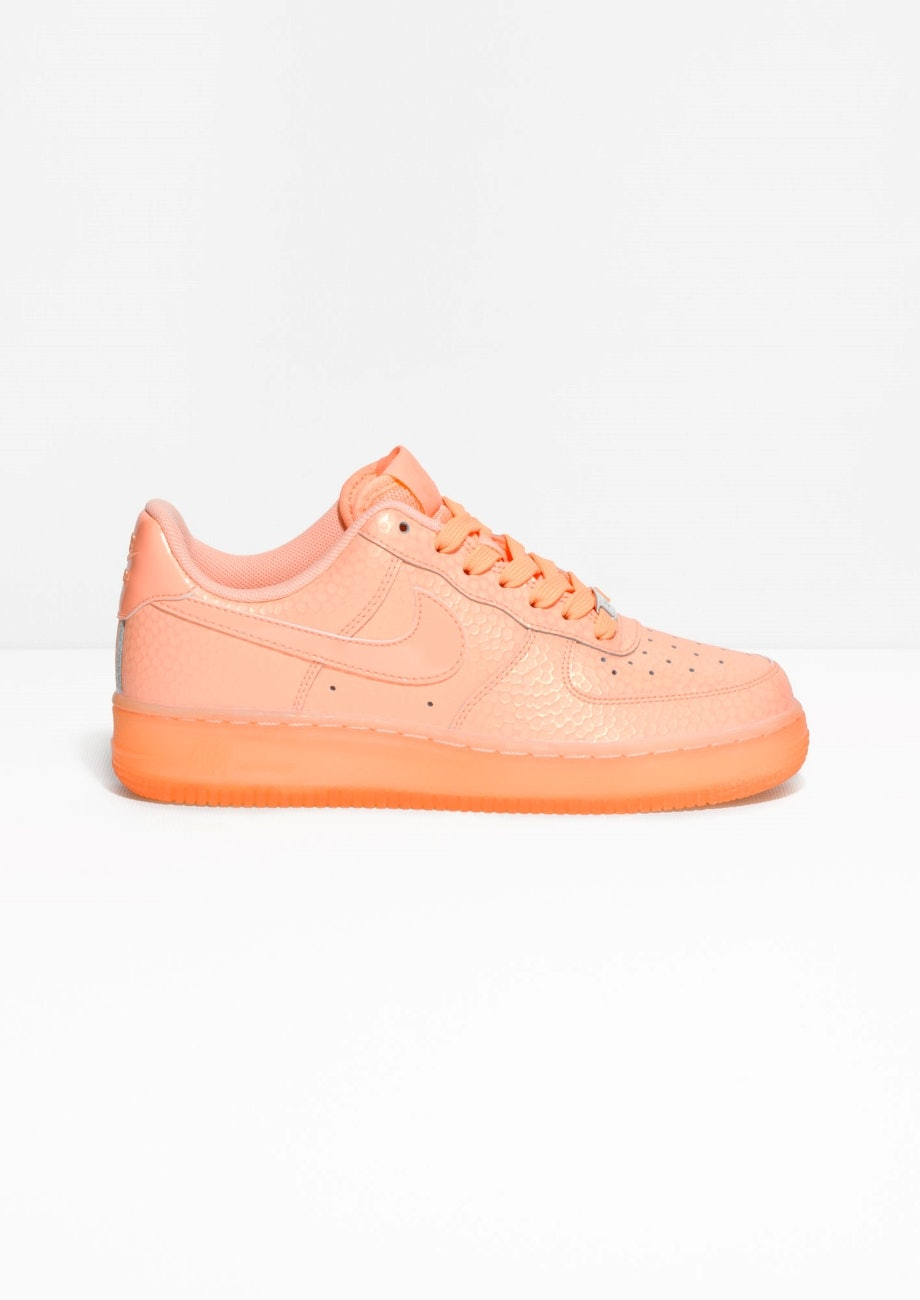 nike air force 1 zalmroze