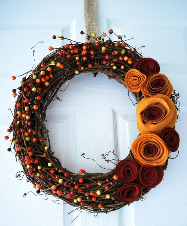 9 Diy Fall Wreath Ideas To Make Your Front Door Pop This Season