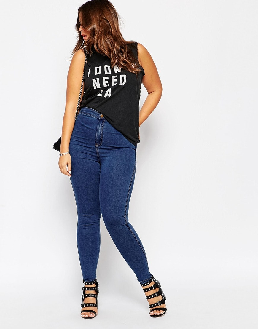 db60c6b931fcf 11 Places To Shop Plus Size Denim That Will Leave You Feeling Comfy &  Stylish