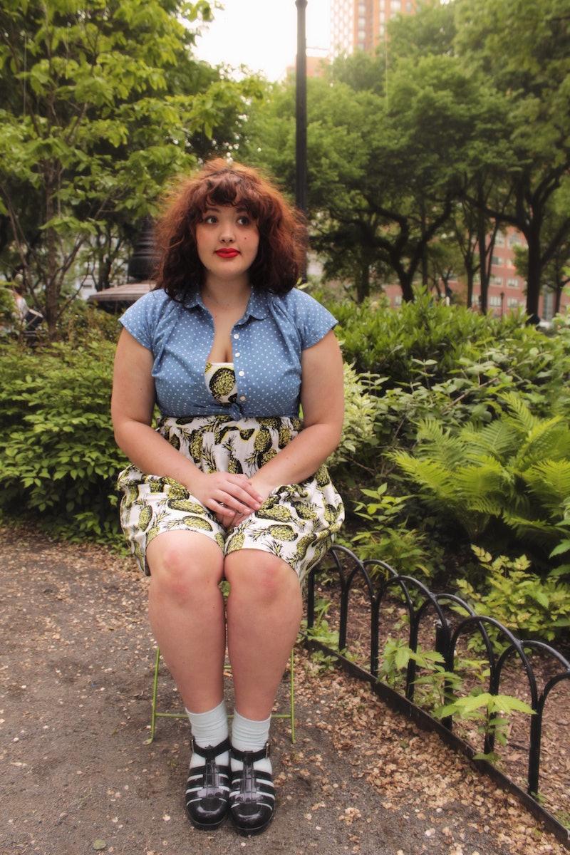 Chubby girls in heels