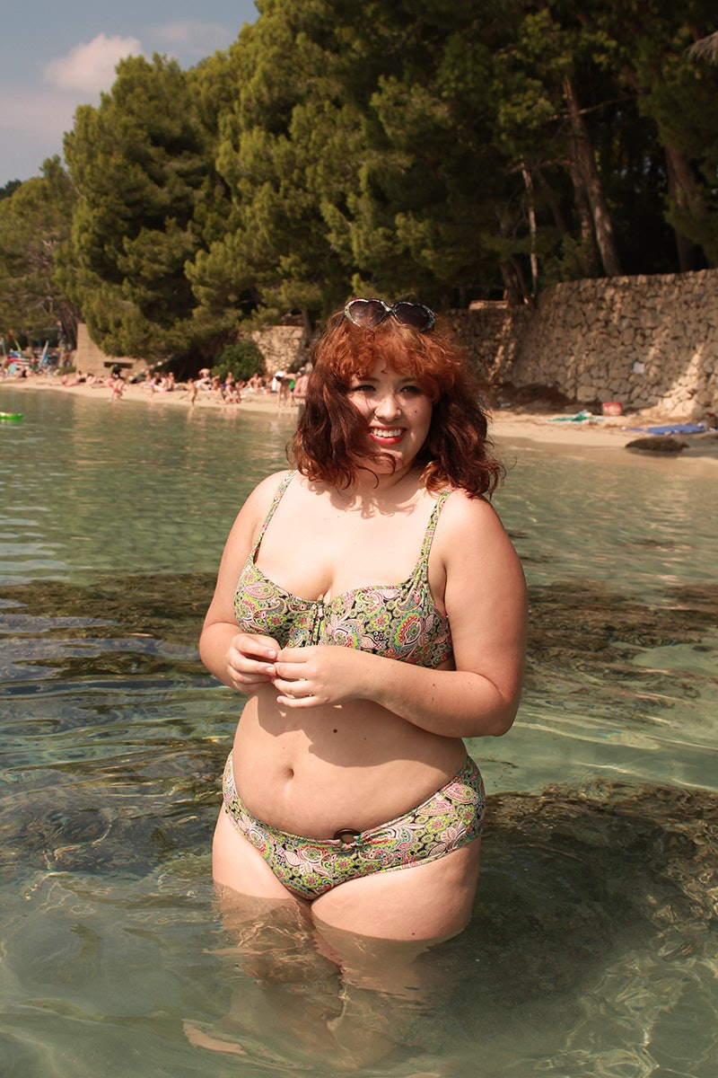 2e88ef0cf I Am A Plus-Size Woman Who Wore A Low-Rise Bikini To The Beach