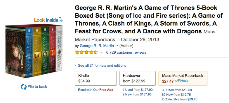 This Game Of Thrones Gift Guide Fits Every Kind Fan From The Purists To Casual Viewers