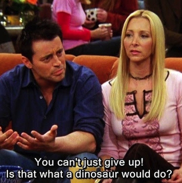 12 Times Friends Joey Tribbiani Was The Only Life Coach Youll