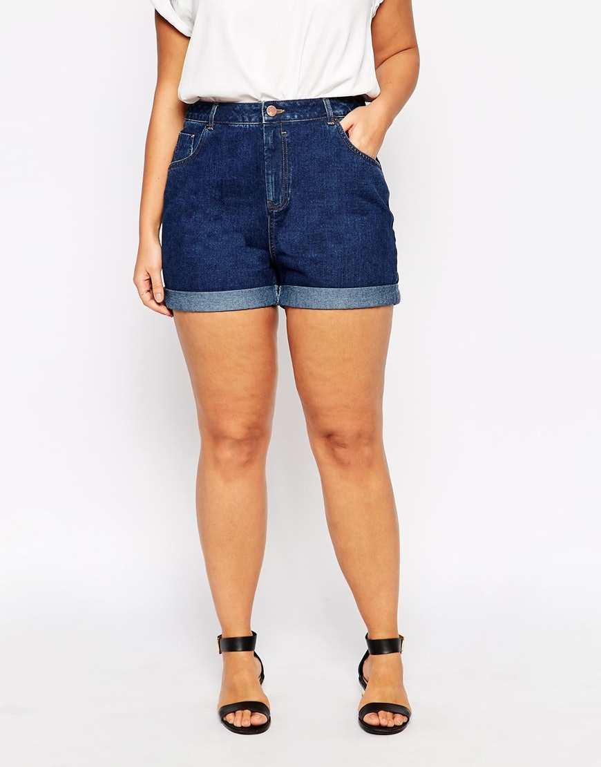 17 denim shorts for big butts because a little extra stretch is all