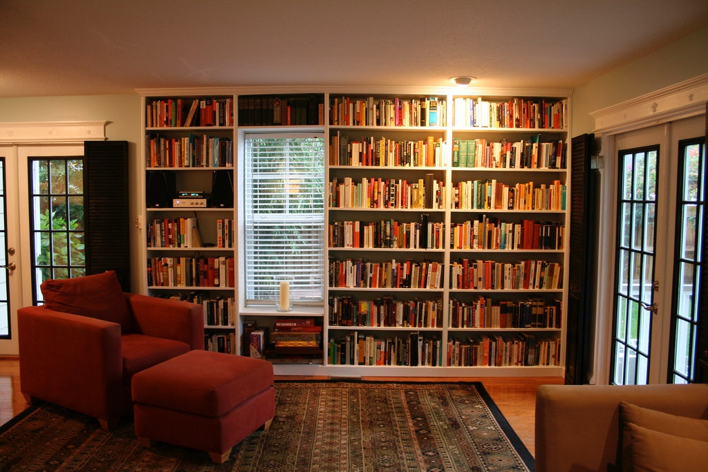 What Your Bookshelf Says About Your Personality