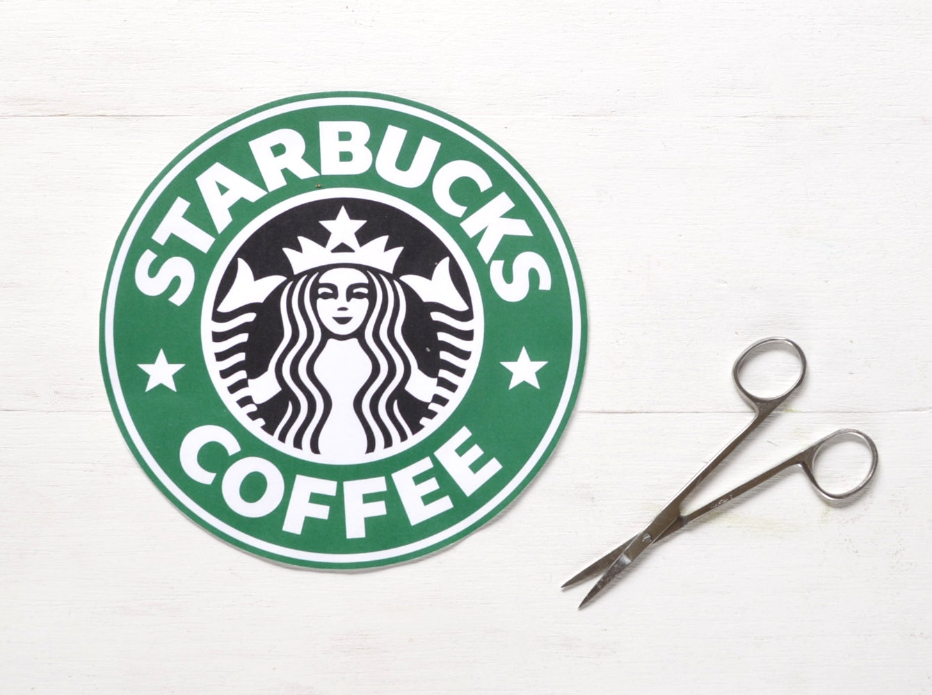 photograph regarding Printable Starbucks Logos called A Starbucks Halloween Gown For People today Who Enjoy