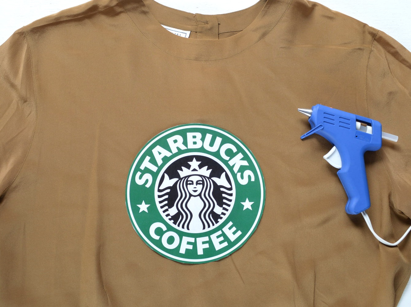 picture regarding Starbucks Logo Printable called A Starbucks Halloween Gown For Human beings Who Take pleasure in
