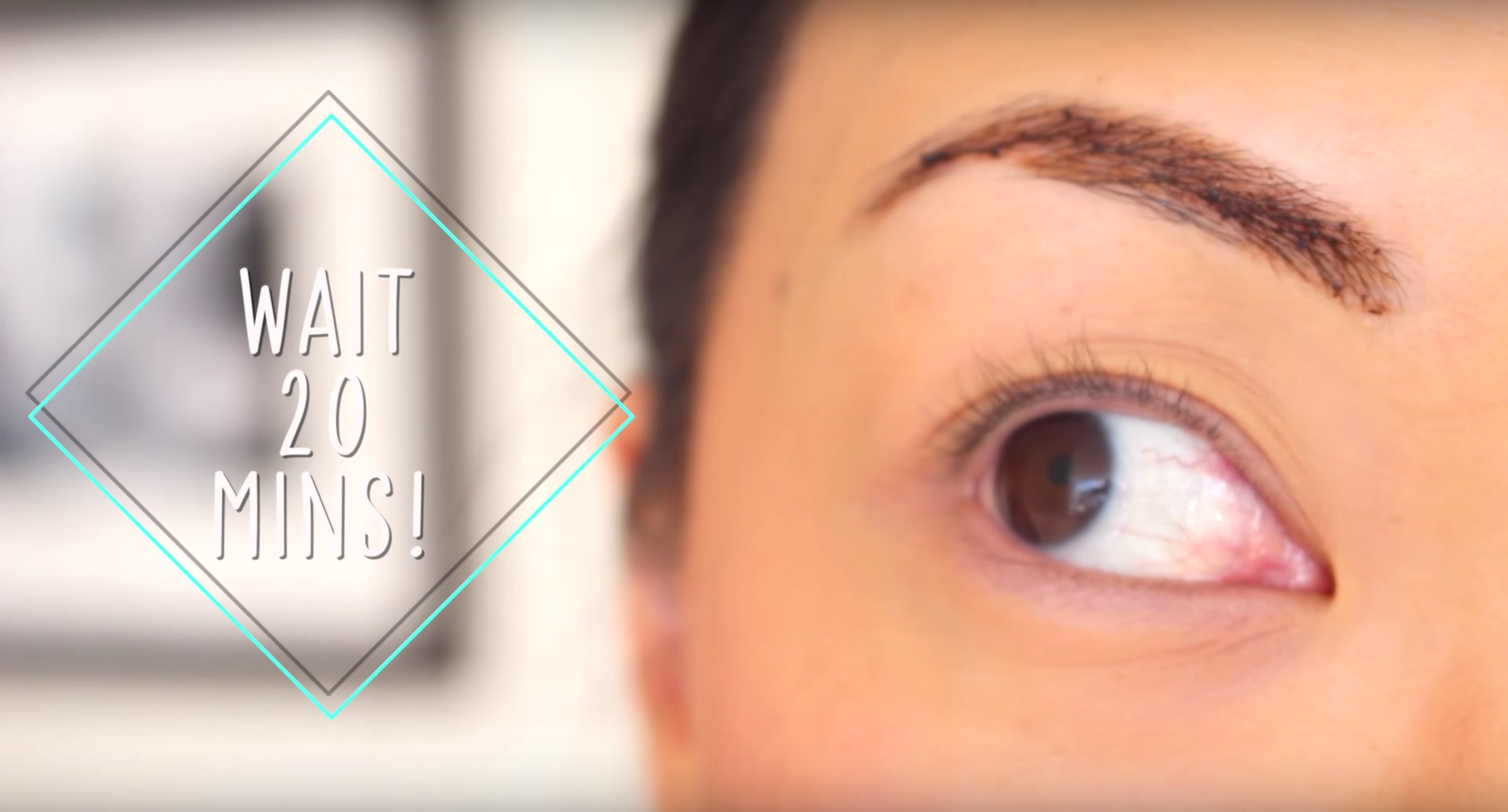 How To Tint Your Eyebrows With Coffee For A Quick Easy Fix Video