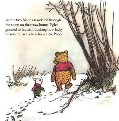 On AA Milne's 'WinnieThePooh' Anniversary 60 Life Lessons From Cool Winnie The Pooh Quote About Friendship