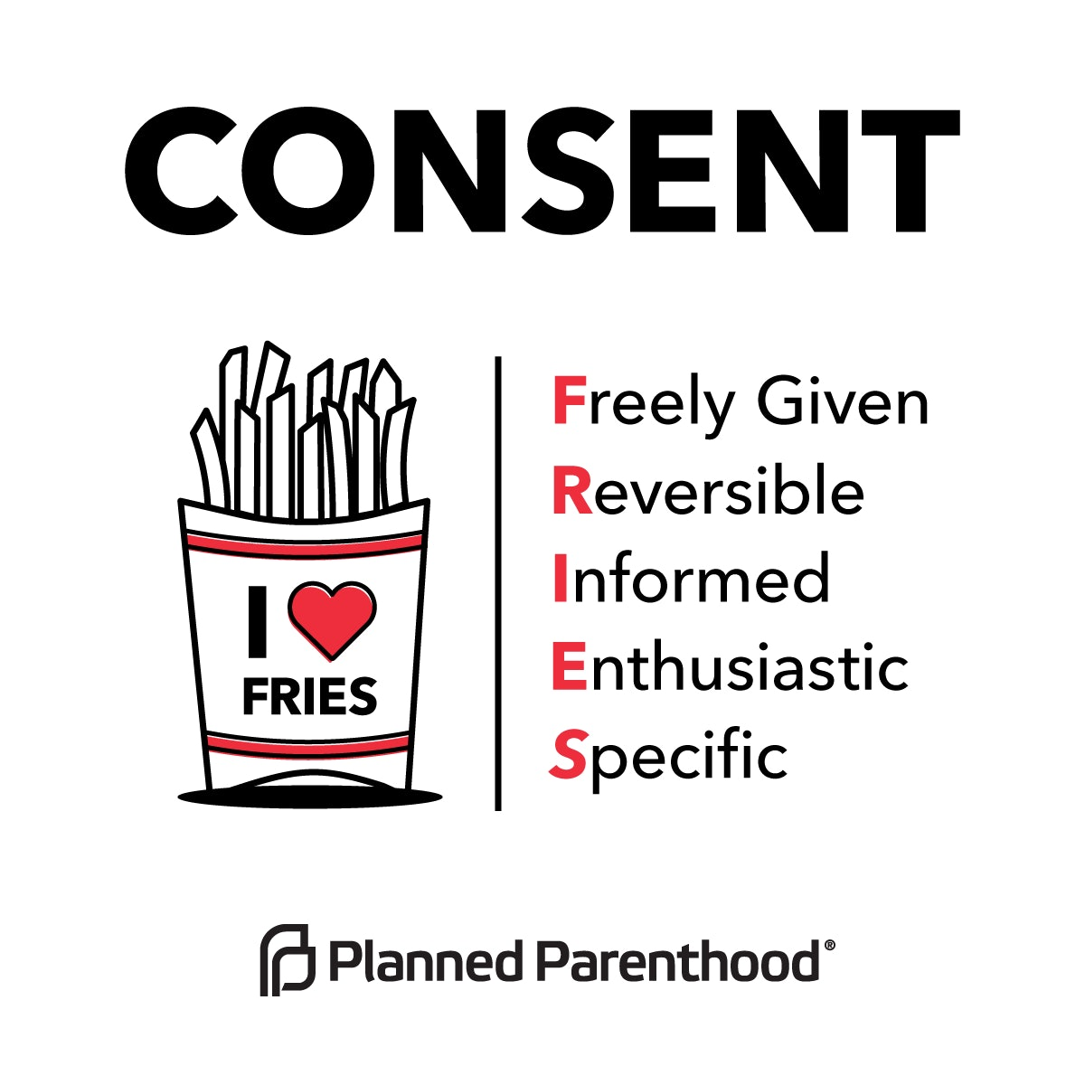 Planned Parenthood Graphic Uses Fries To Explain Consent In