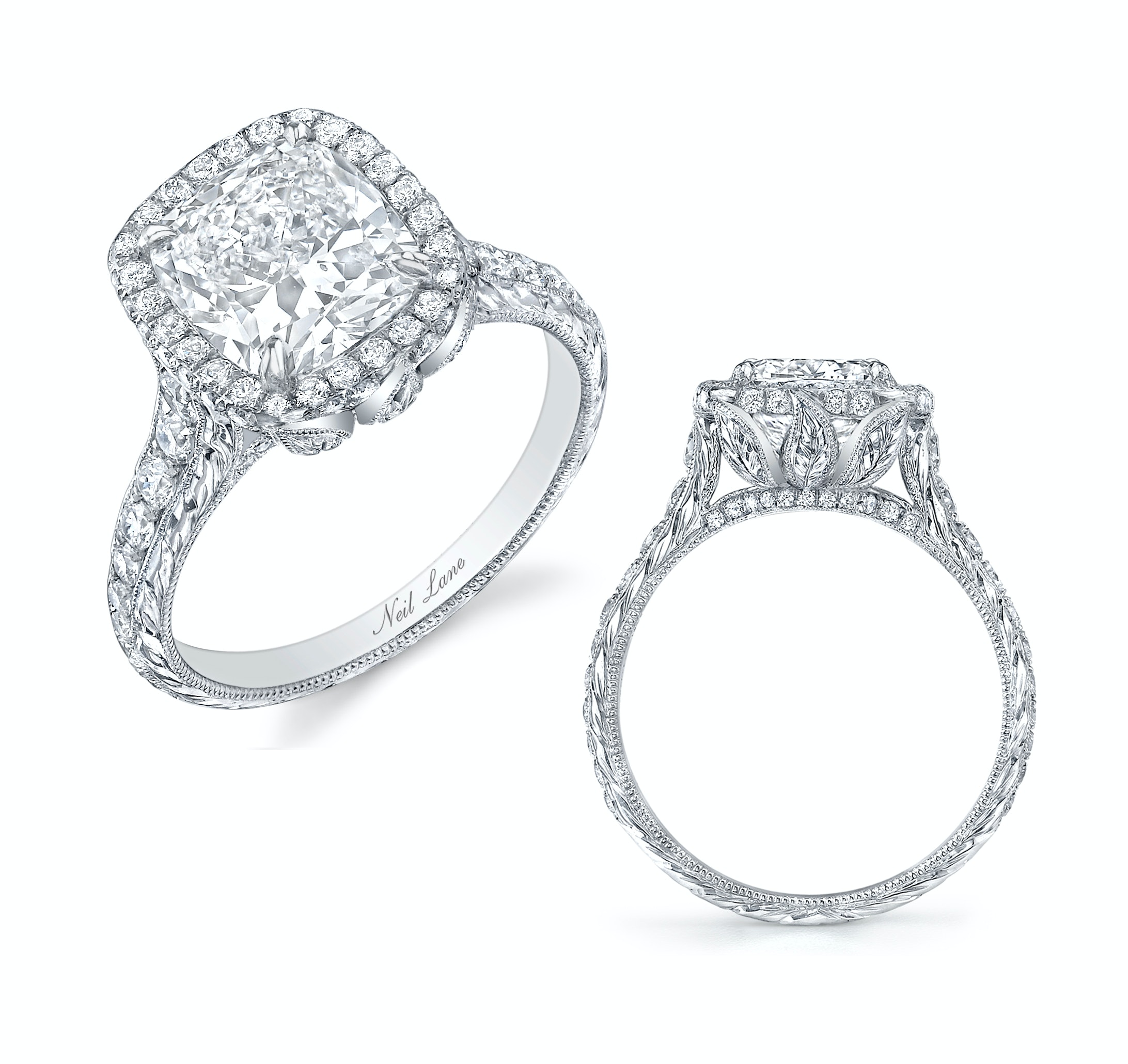 diamond wedding lane bands neil rings