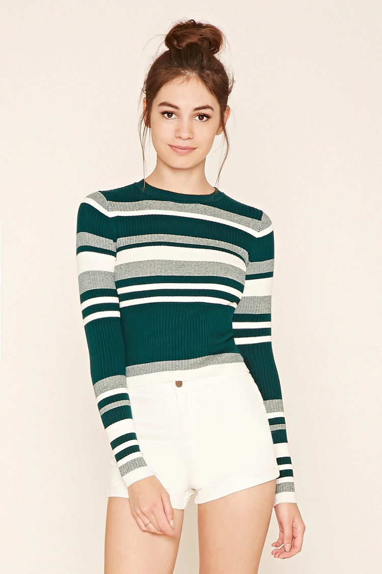 Colorblock sweater dress forever 21