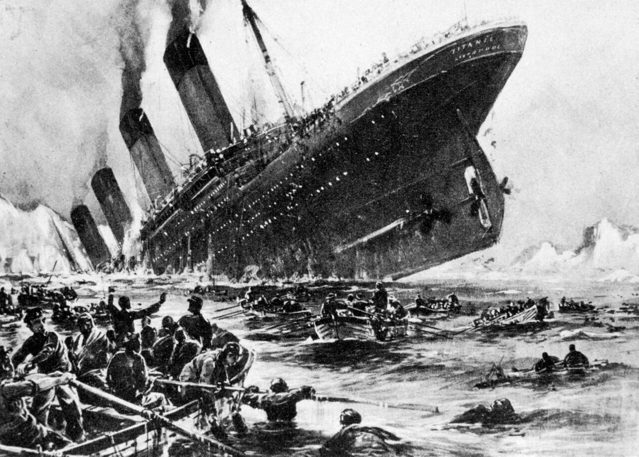 9 eerily realistic drawings of the titanic as it sank drawn shortly