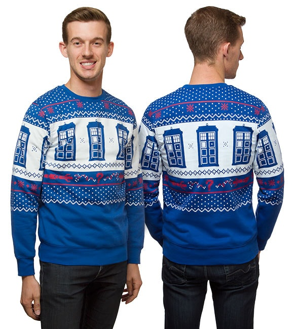 Doctor Who Ugly Christmas Sweaters For All Your Geek Chic Festive Needs