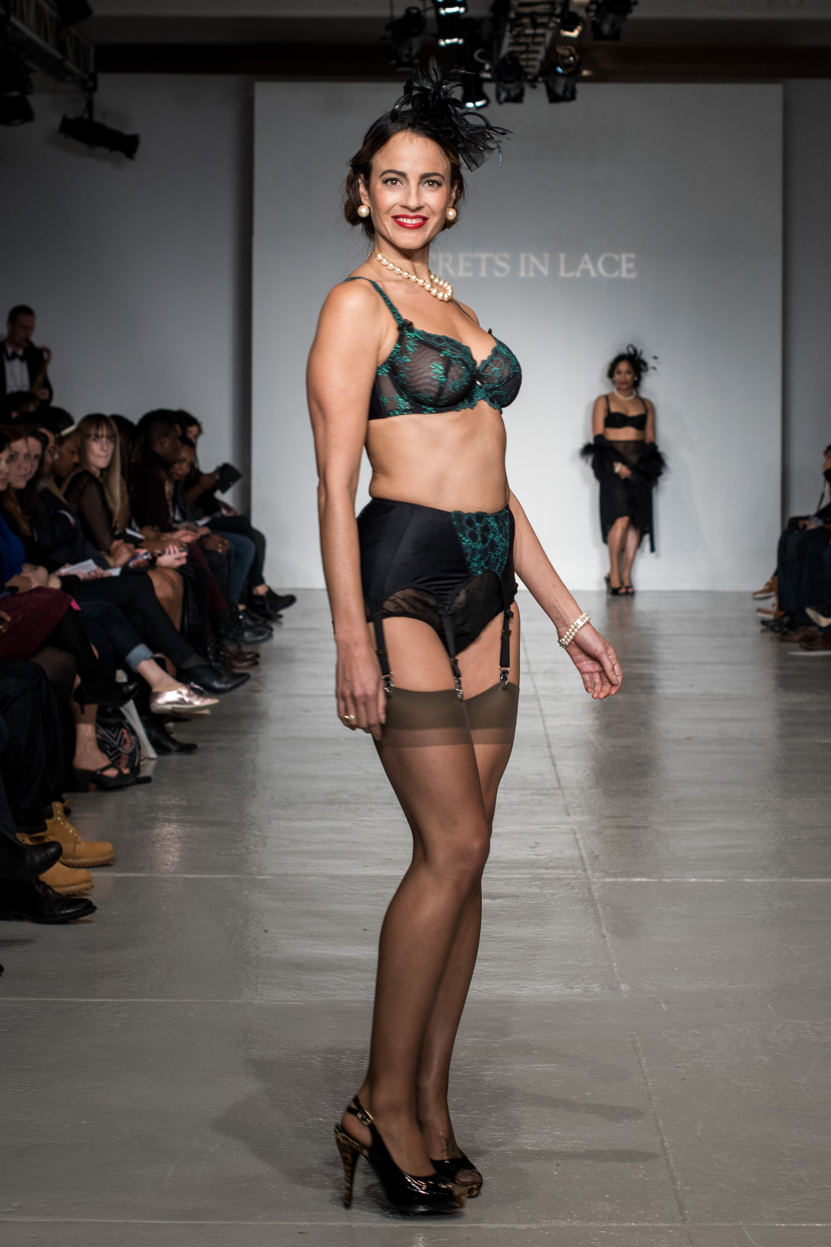 Lingerie Fashion Week Showcases Different Body Types on the Runway Because  There's No Such Thing As