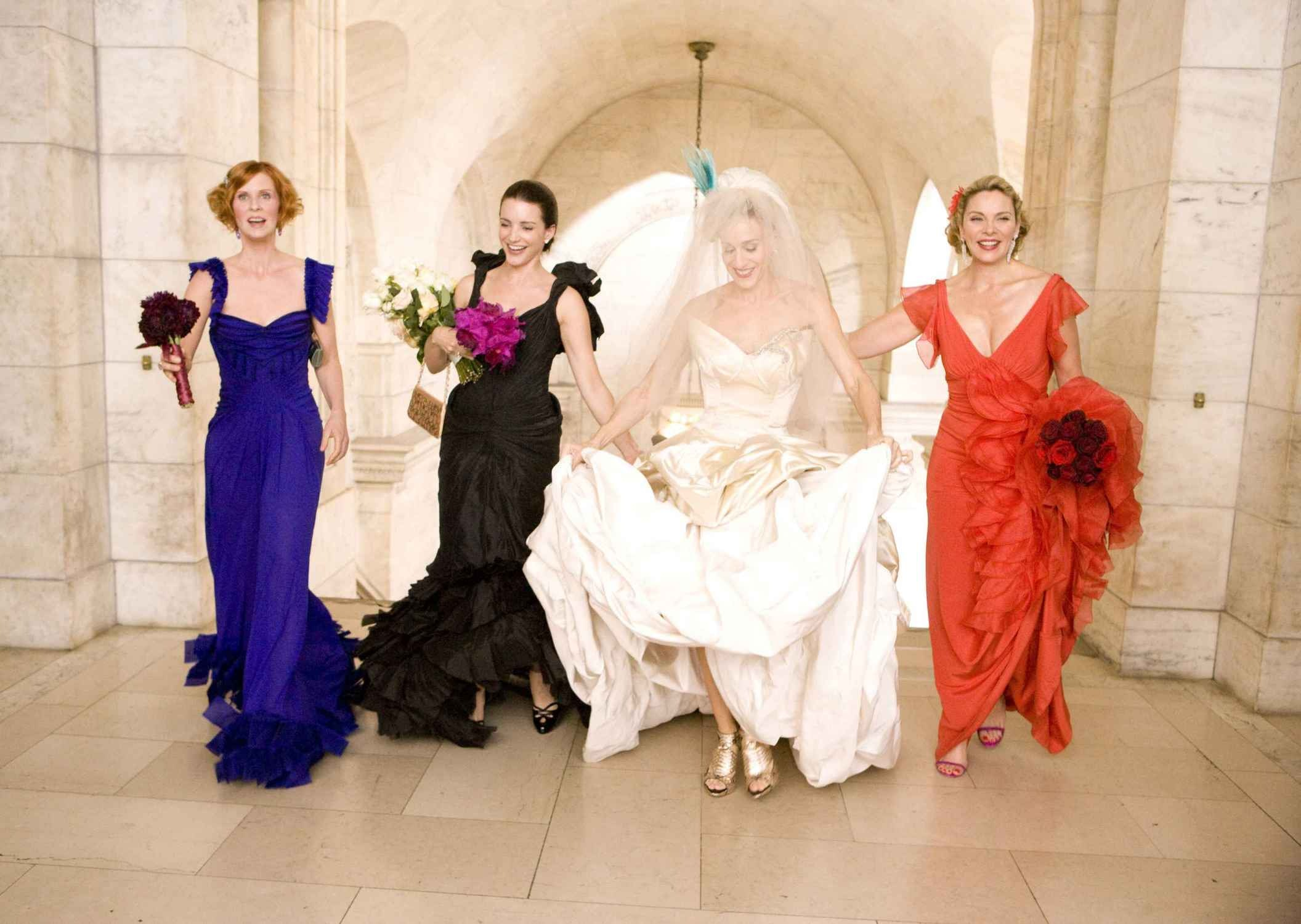 11 ugly bridesmaid dresses from tv and movies that will make you 11 ugly bridesmaid dresses from tv and movies that will make you happier about your own ombrellifo Images