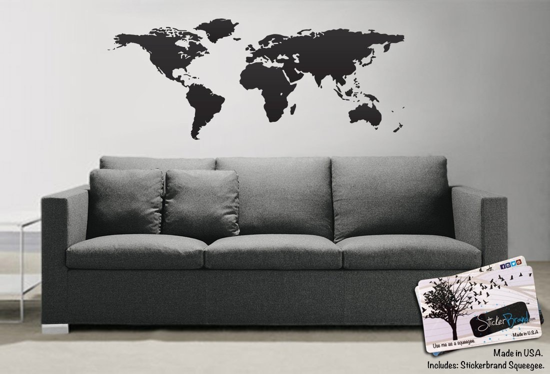 10 best adhesive temporary wallpapers decals to decorate your walls amipublicfo Image collections