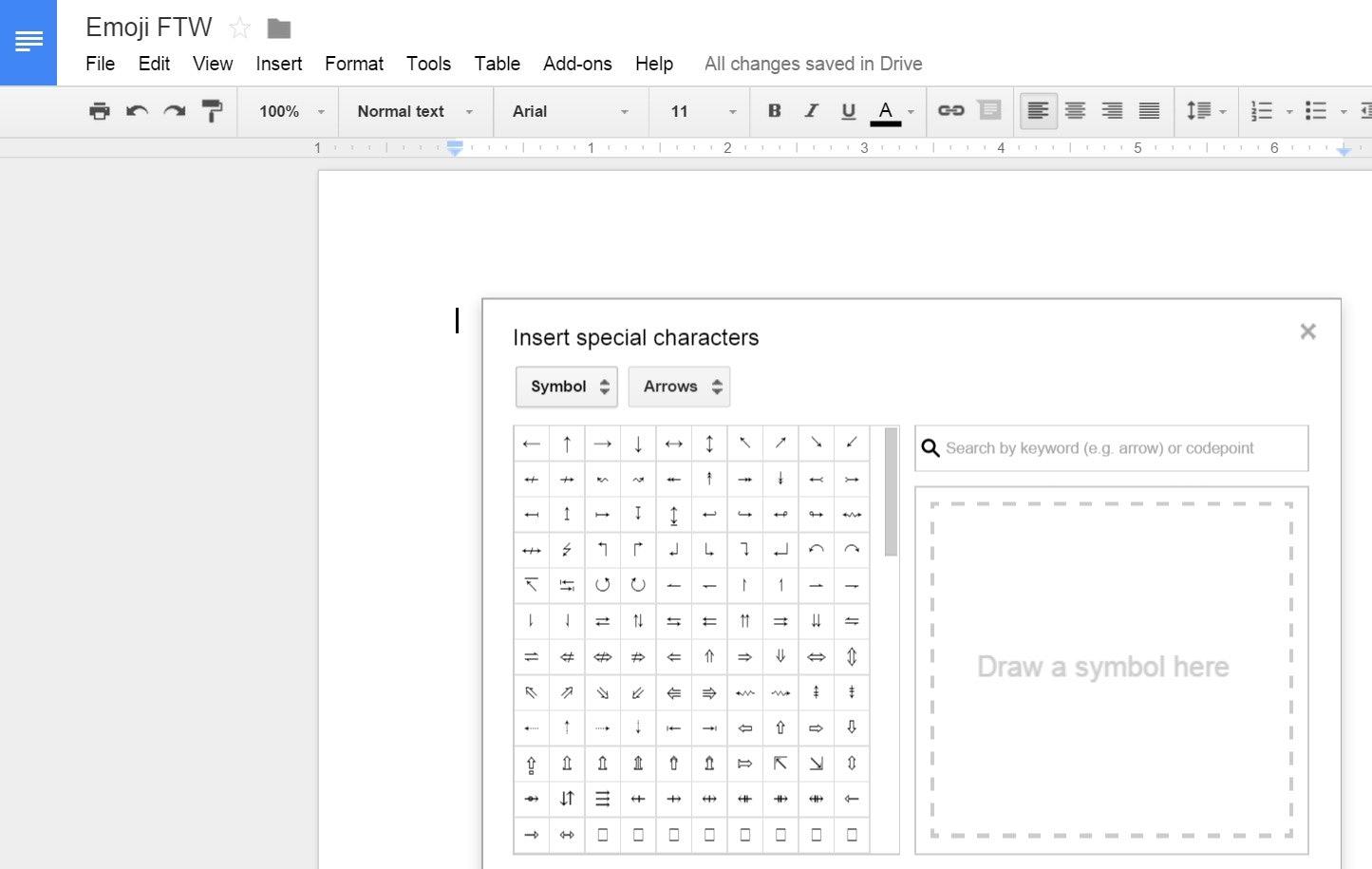 How to use emoji in google drive because somewhat surprisingly how to use emoji in google drive because somewhat surprisingly its actually possible buycottarizona Choice Image
