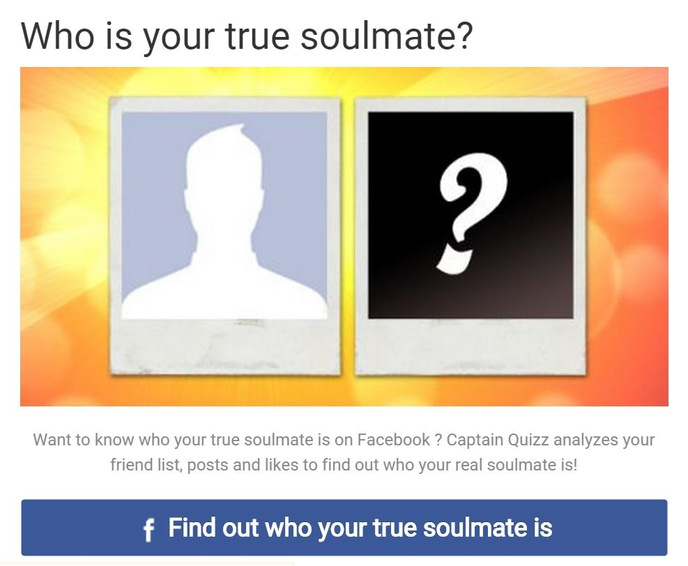 Are you dating your soulmate quiz