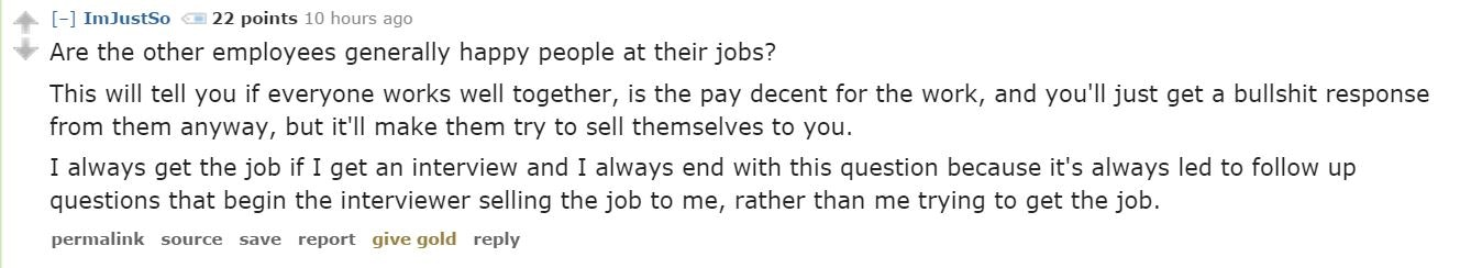 12 Questions To Ask At The End Of A Job Interview, According To Reddit