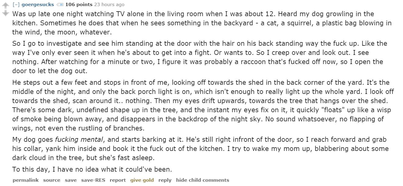 14 Creepy, Real Life Stories From Reddit (Because You Weren't