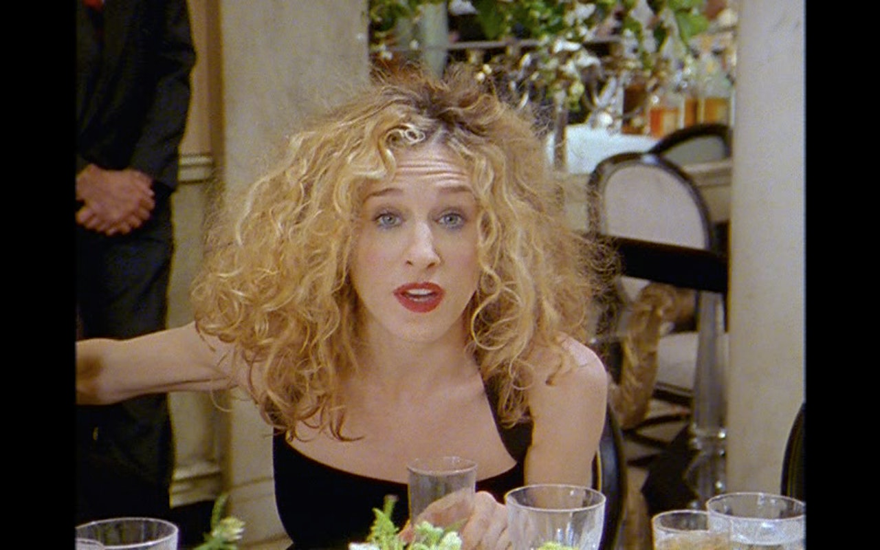 11 Carrie Bradshaw Hairstyles That D Still Be Super Chic
