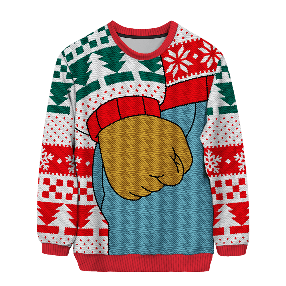 7 Meme Themed Ugly Christmas Sweaters That Will Remind You How Weird
