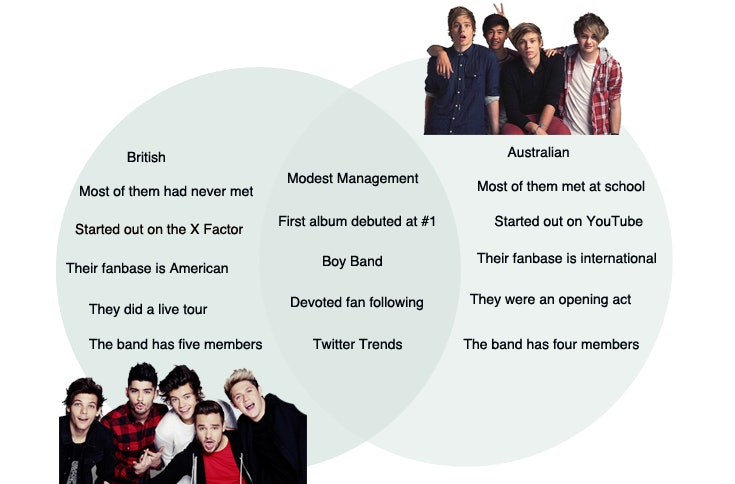 One Direction or 5 Seconds of Summer? This Handy Graph Will