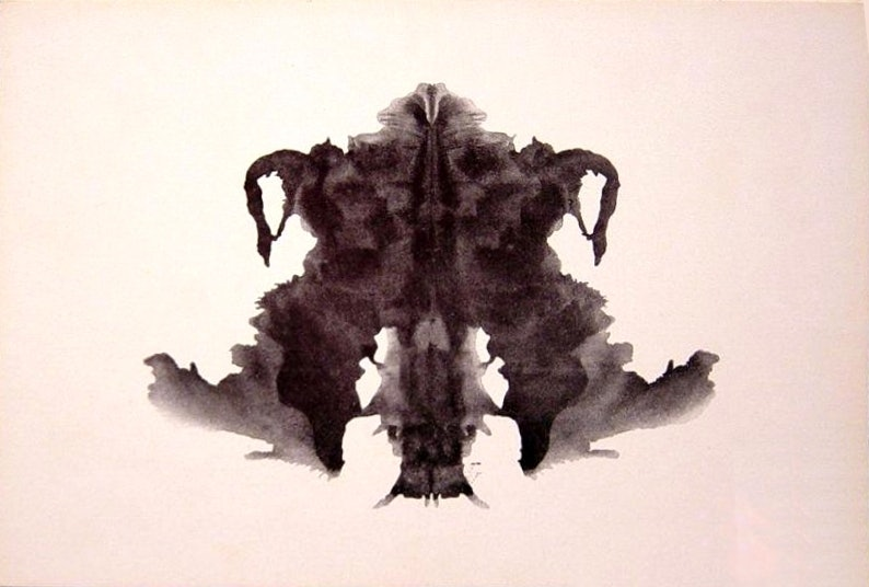 What Rorschach Inkblot Test Tells You About Your Personality