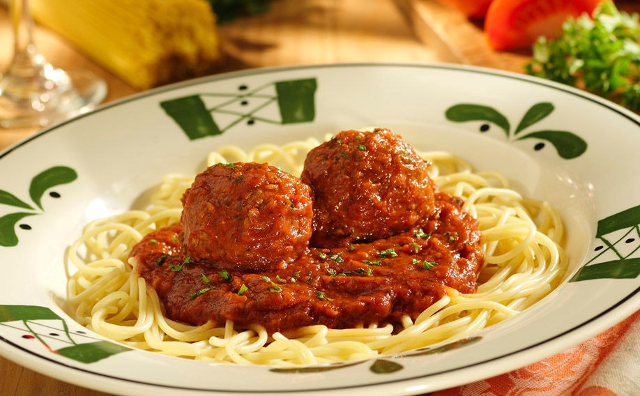How Many Calories In Spaghetti And Meatballs At Olive Garden