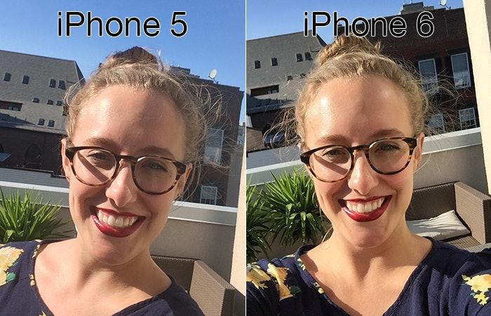 фото на айфон 5s селфи