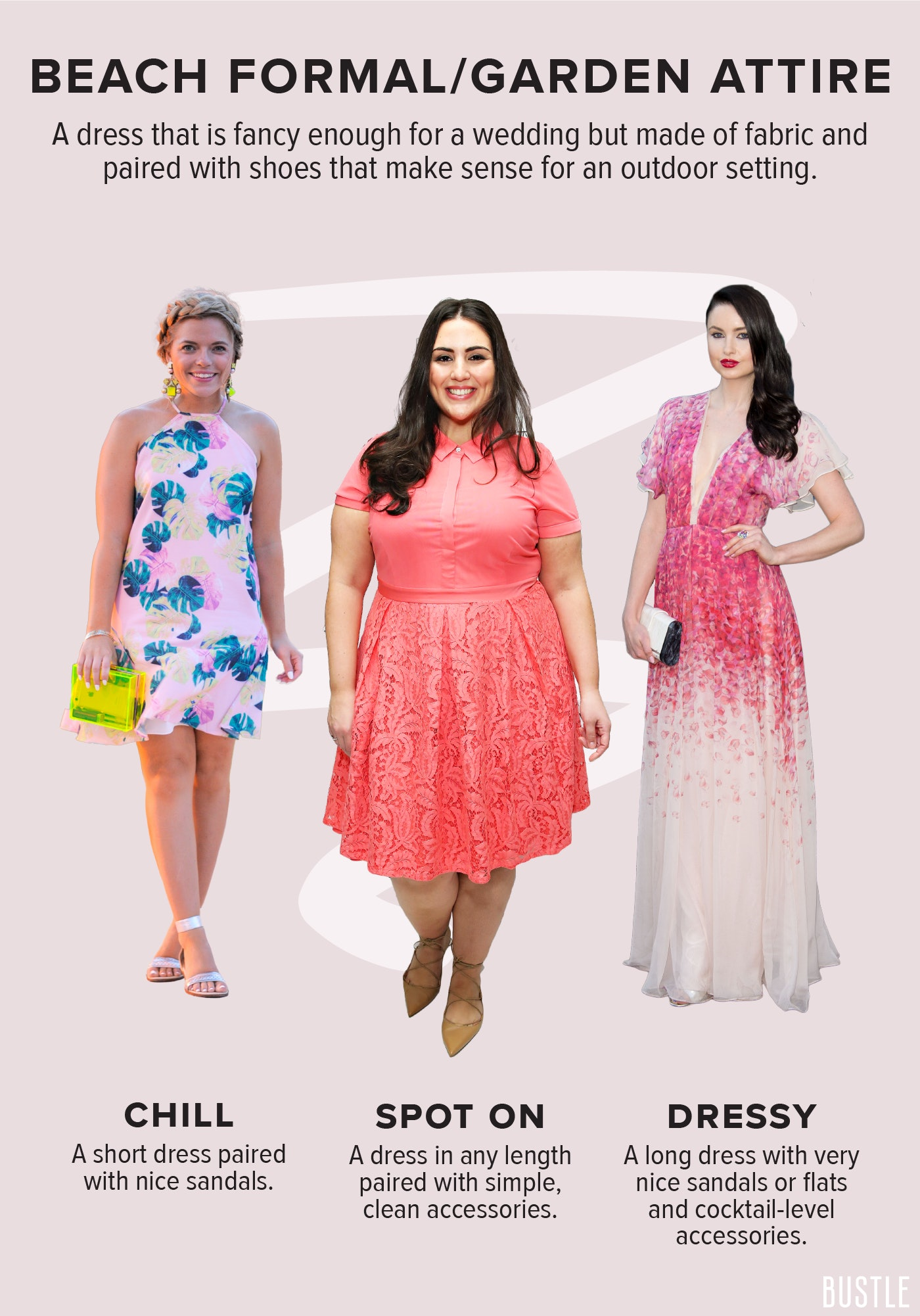A Wedding Dress Code Guide For All Levels Of Fancy You\'ll Encounter ...