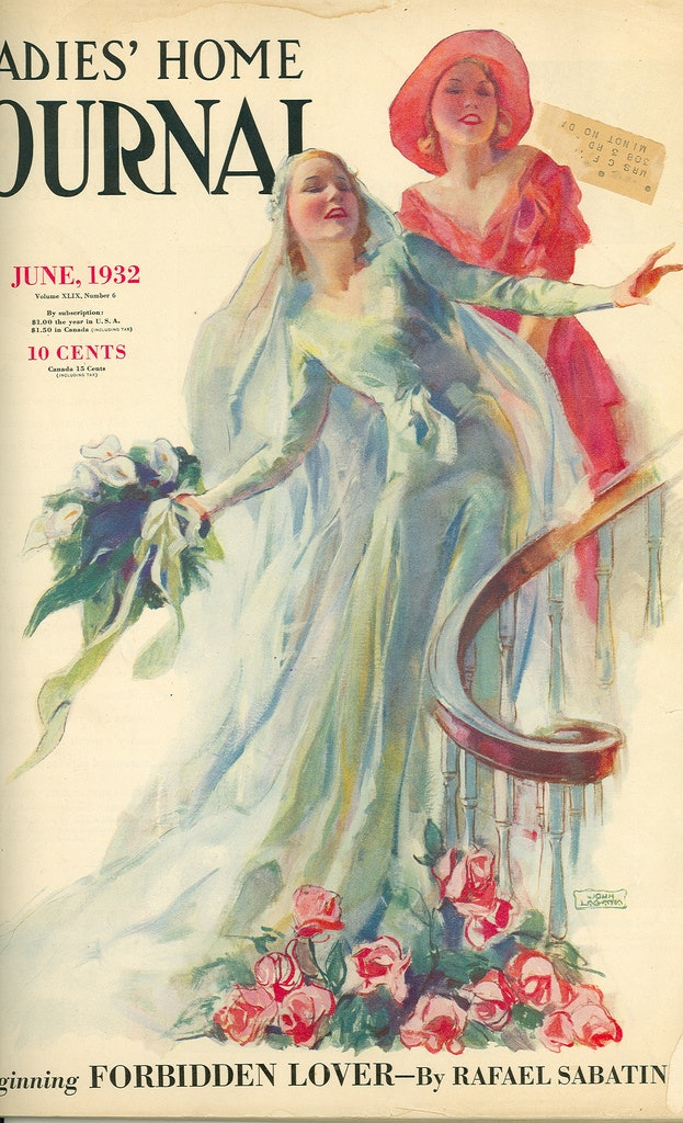These Vintage Bridal Magazine Covers Prove They Haven T Changed So Much In The Last Century
