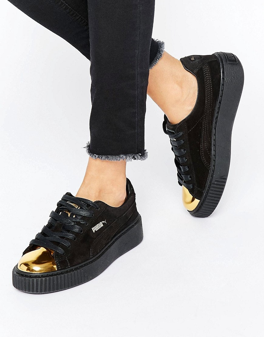 black and gold pumas Sale 15c066b47