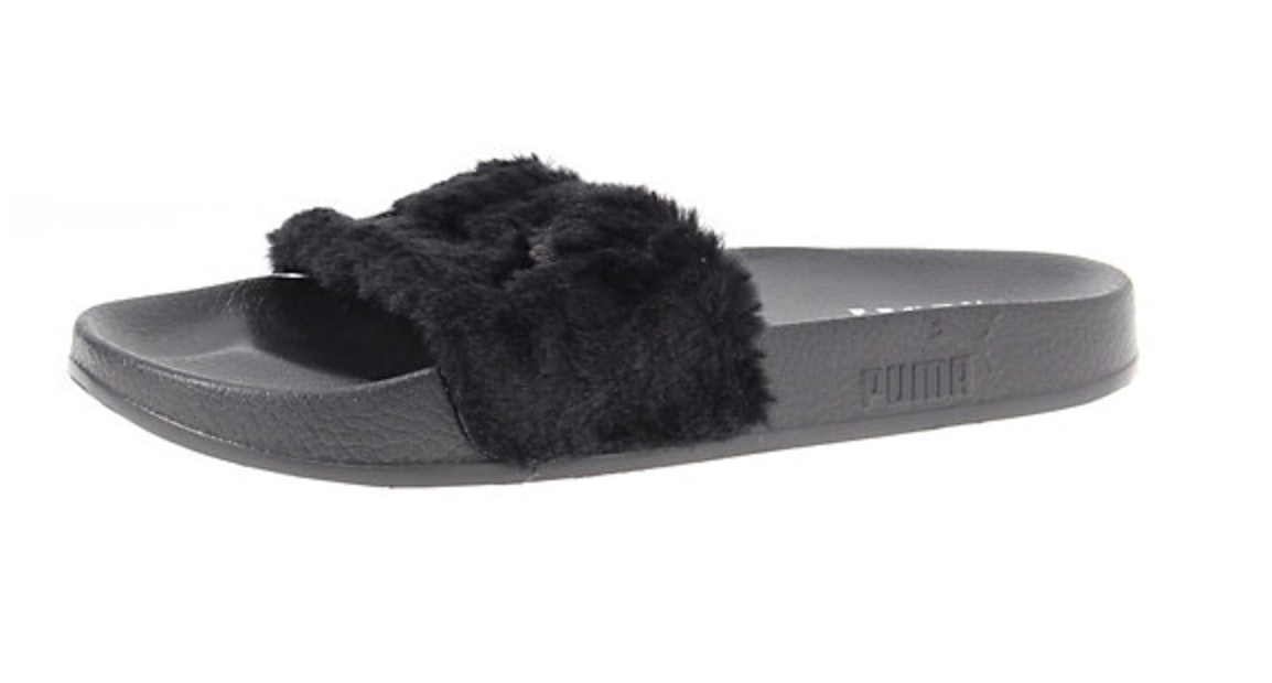 09f07851569 What Size Rihanna Puma Fur Slides Should You Buy  Here s A Key Tip
