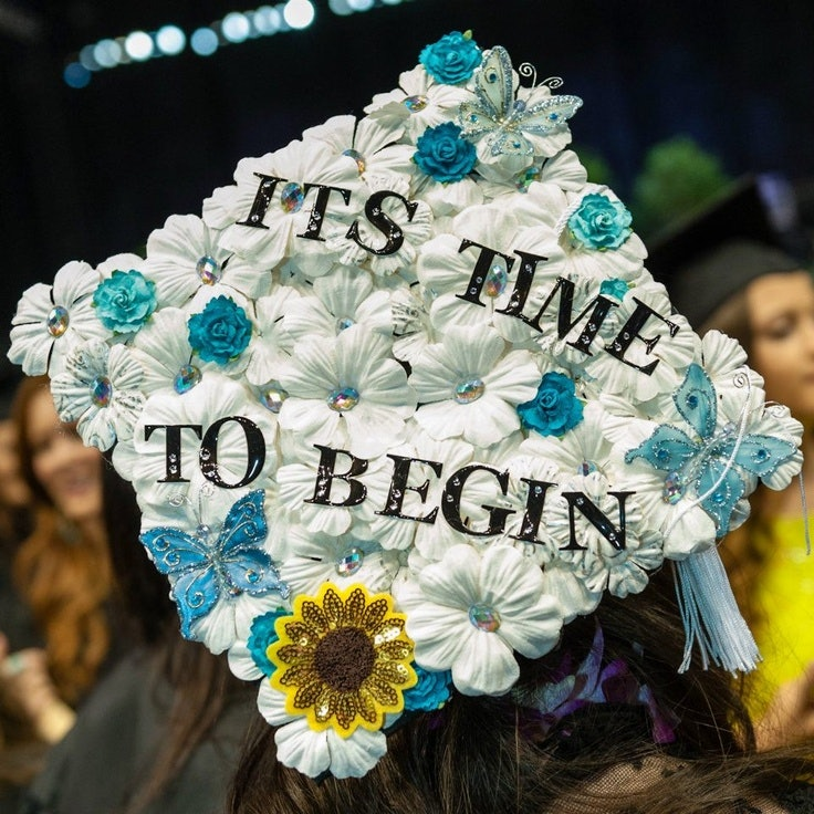 14 Creative Mortarboard Designs Because You Only Get To Do This A