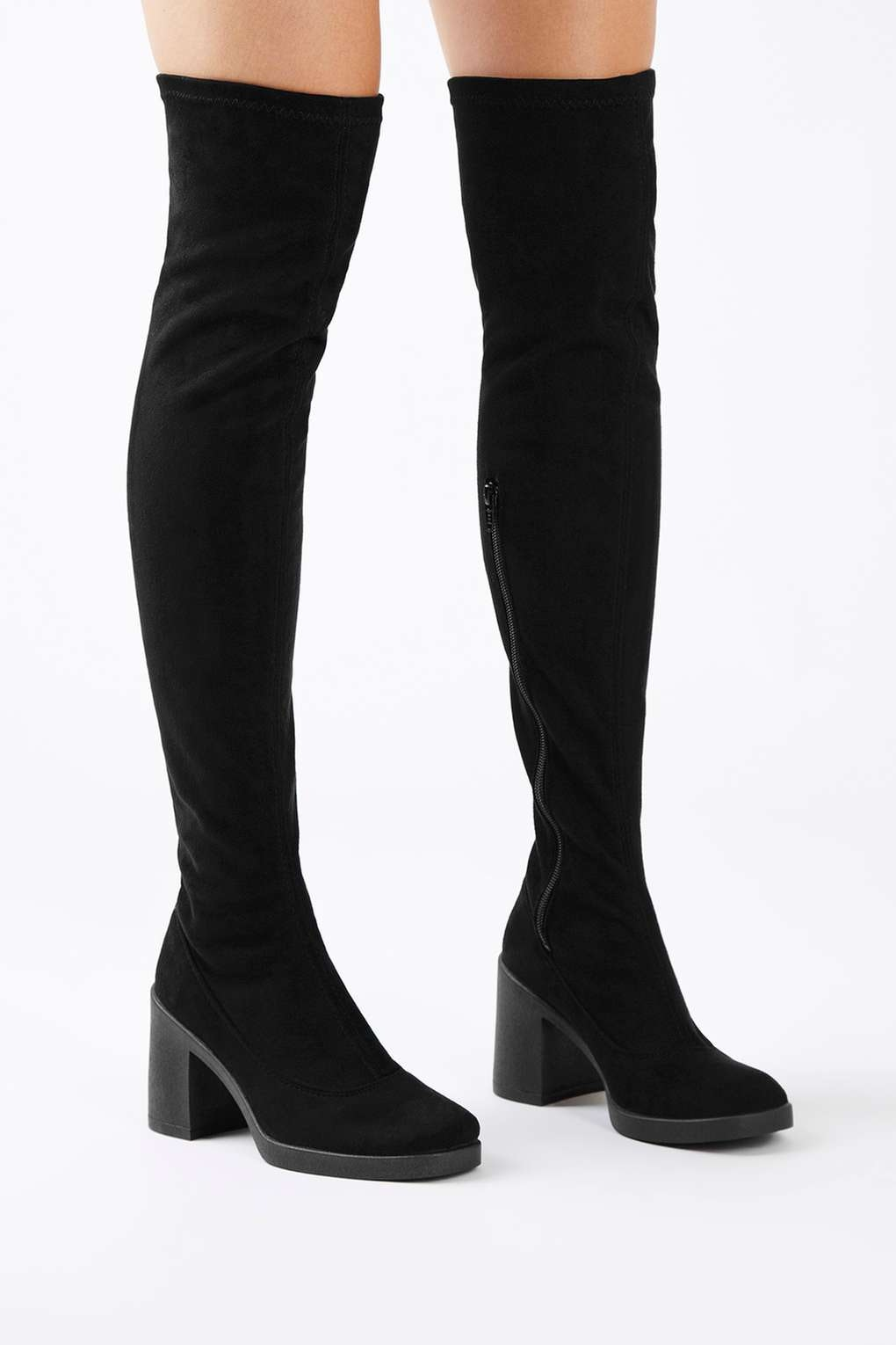 52d919993d8 The Best 2016 Over The Knee Boots For Short Legs