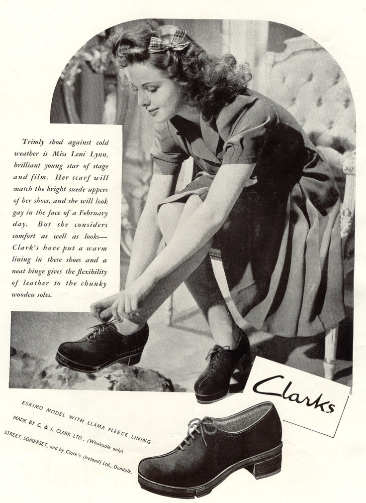 Century Enter Shoe To This Clarks Letshoesbeshoes Encourages Sexist Ads 68Ynq8fTR