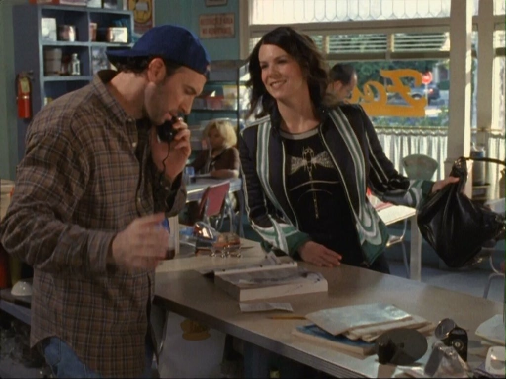 lorelai and luke dating