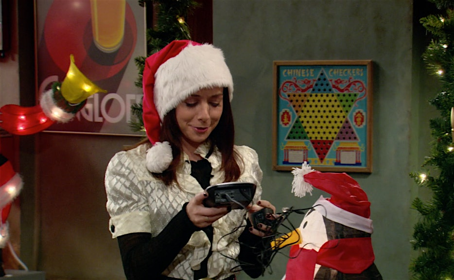 How I Met Your Mother Christmas.15 How I Met Your Mother Moments From How Lily Stole