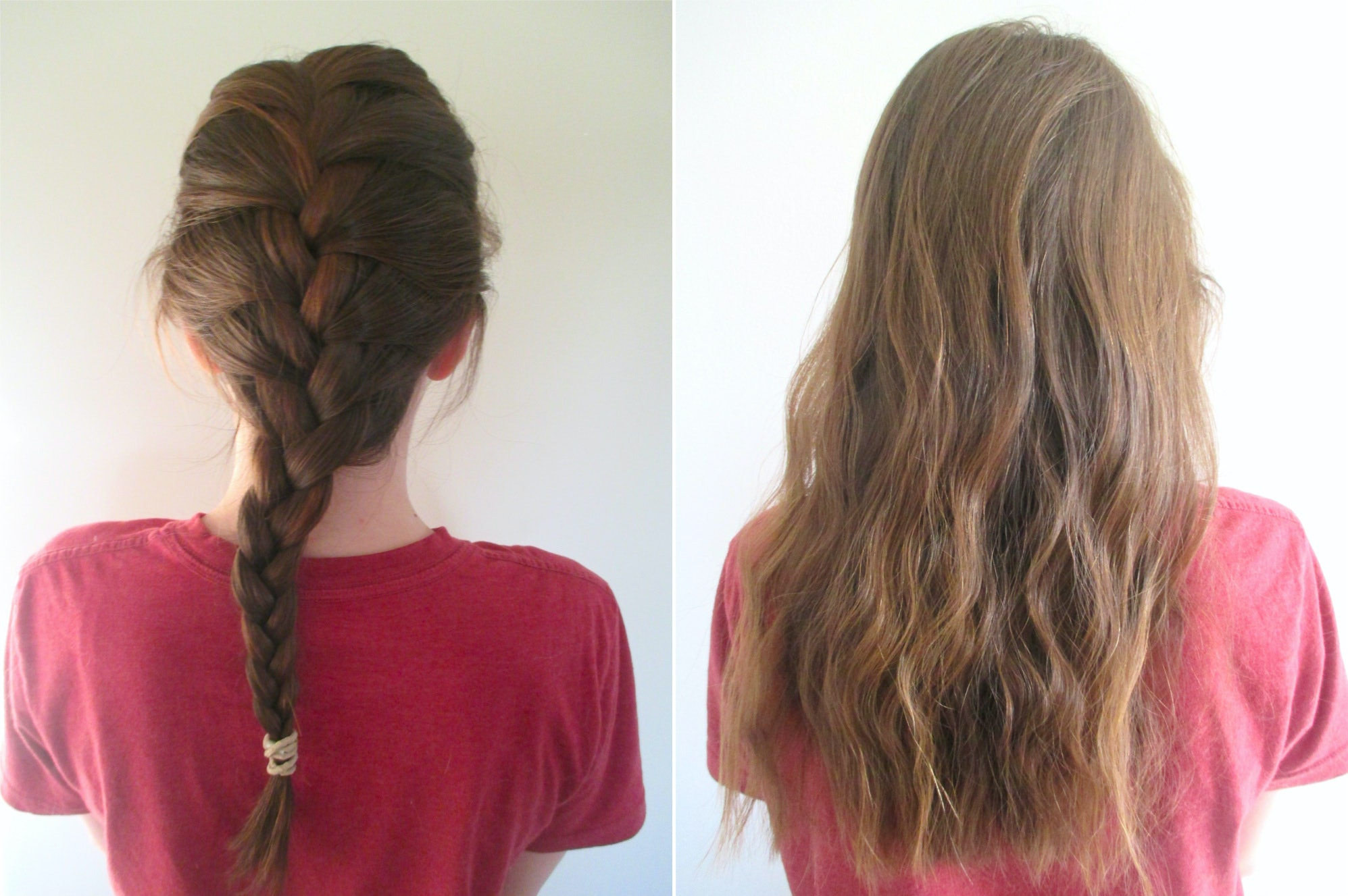 picture How to Curl Hair with Braids