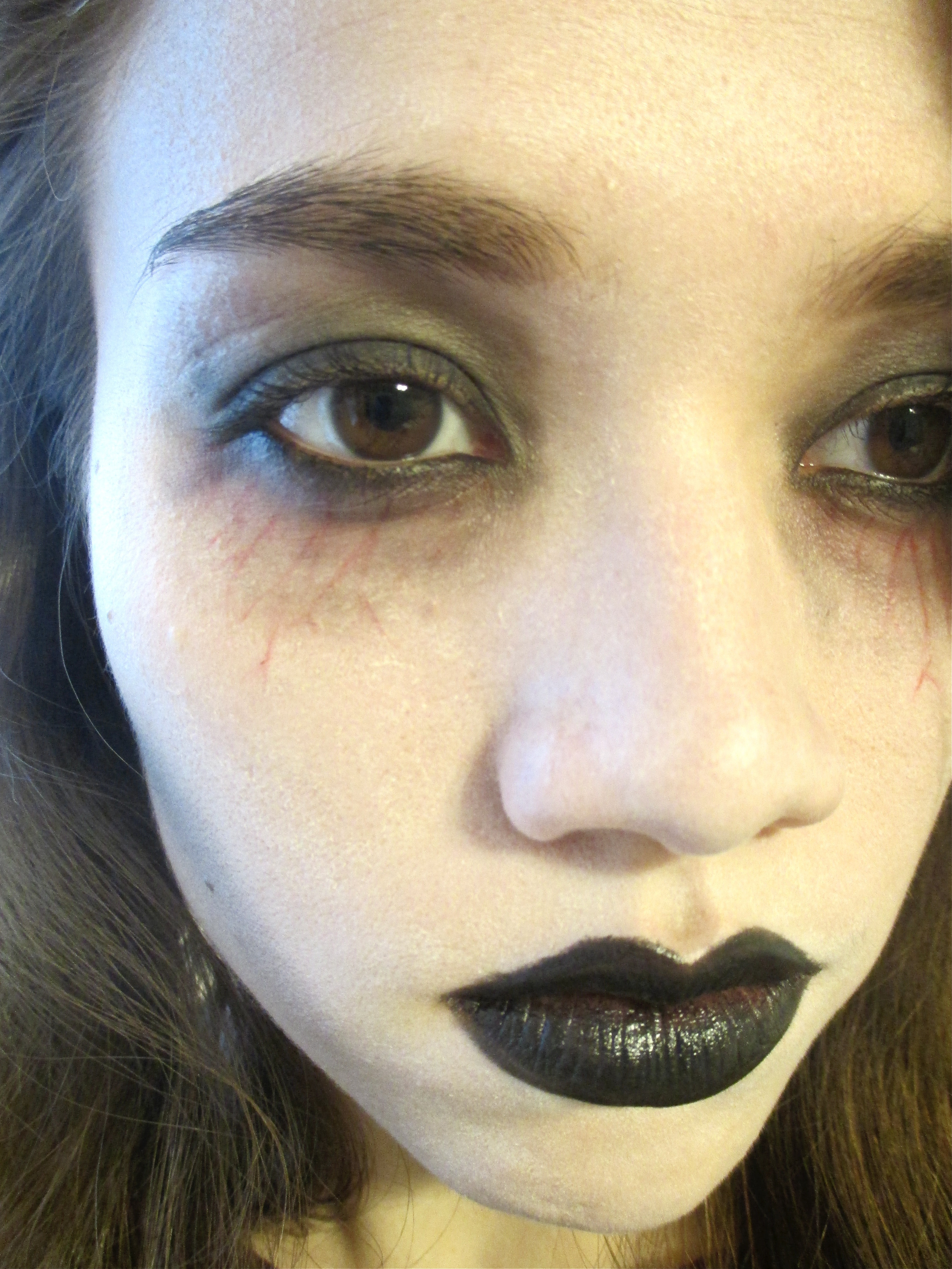 Easy Zombie Makeup That You Can Do With Products You Already Own