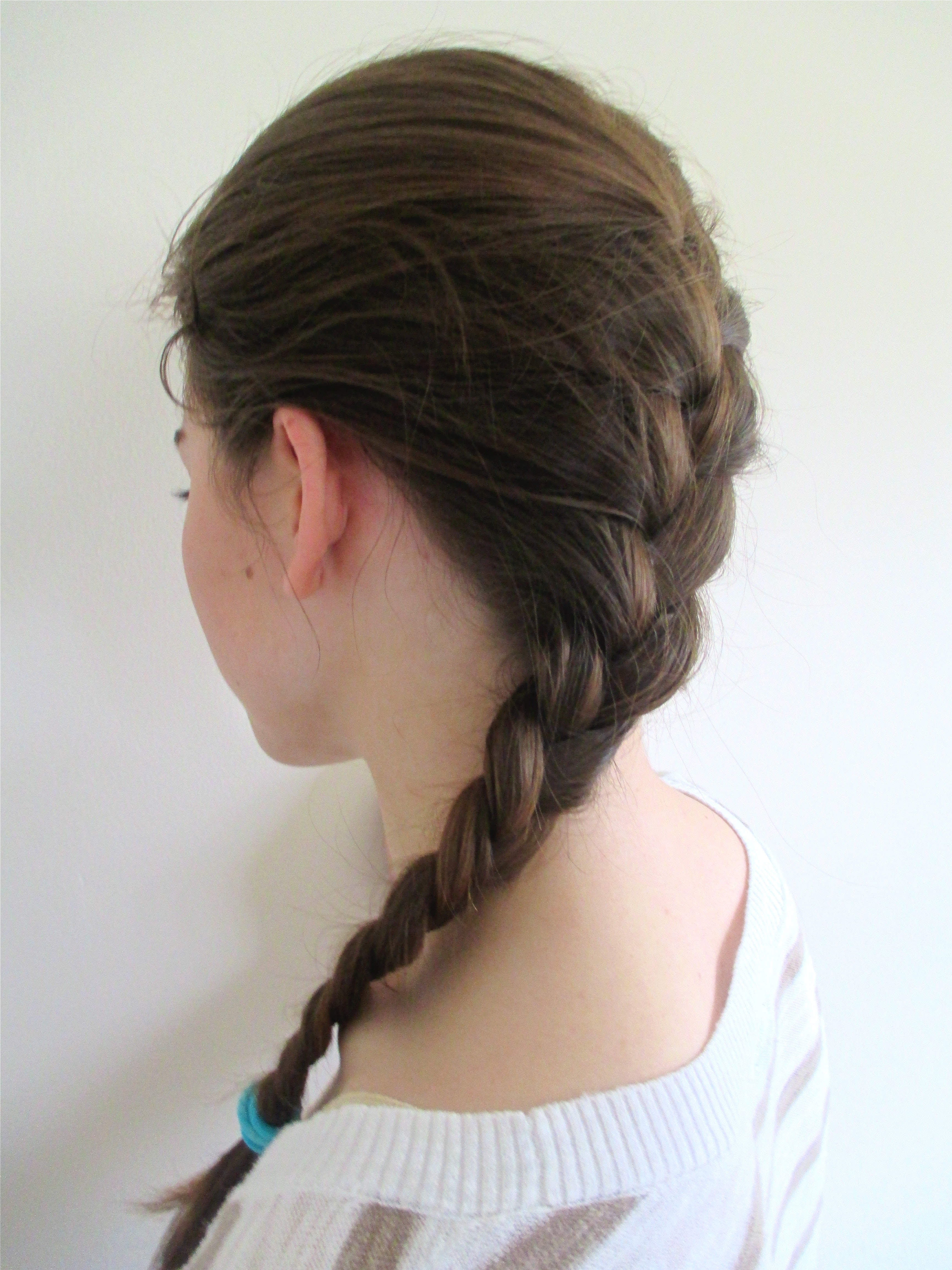 How To French Braid Your Hair In 6 Steps Because This Is One Plait