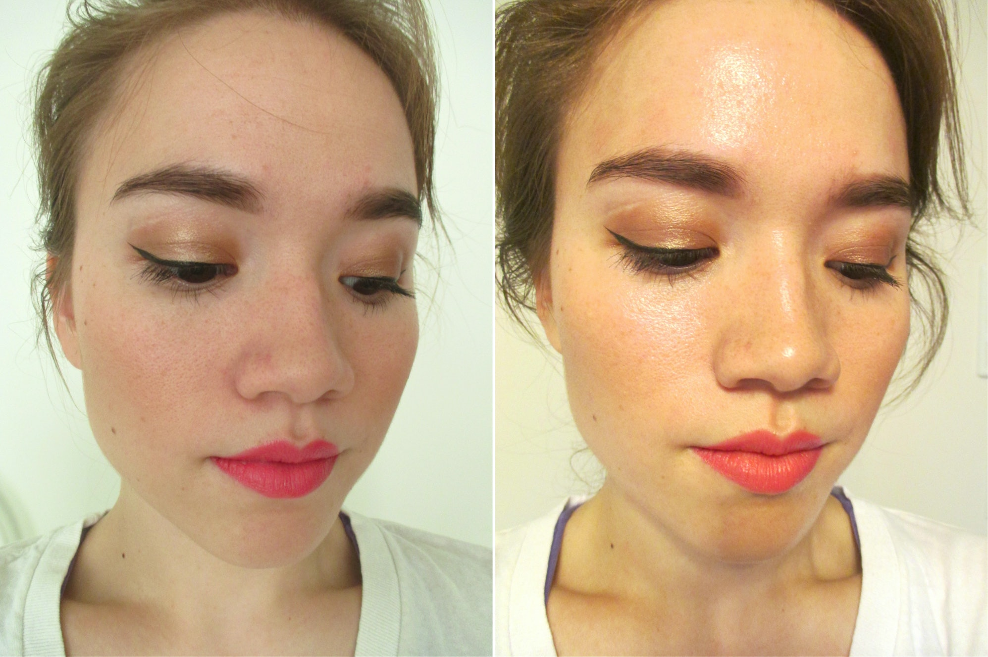 Look - Foundation spray makeup what not to wear video