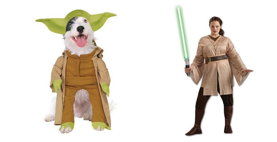 10 Halloween Costumes For Pets u0026 Owners That Will Ensure You Win The Couplesu0027 Contest  sc 1 st  Bustle & 10 Halloween Costumes For Pets u0026 Owners That Will Ensure You Win The ...
